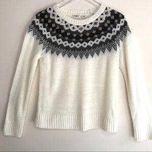 Cato Nordic Fair Isle Knit Winter Sweater